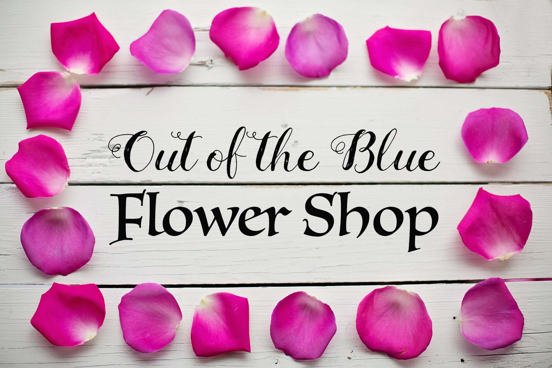 Out of the Blue Virtual Flower Shop – AmandaTru